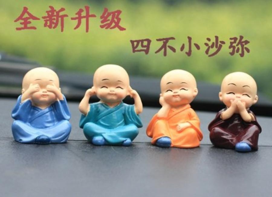Búp bê bốn tiểu hòa thượng