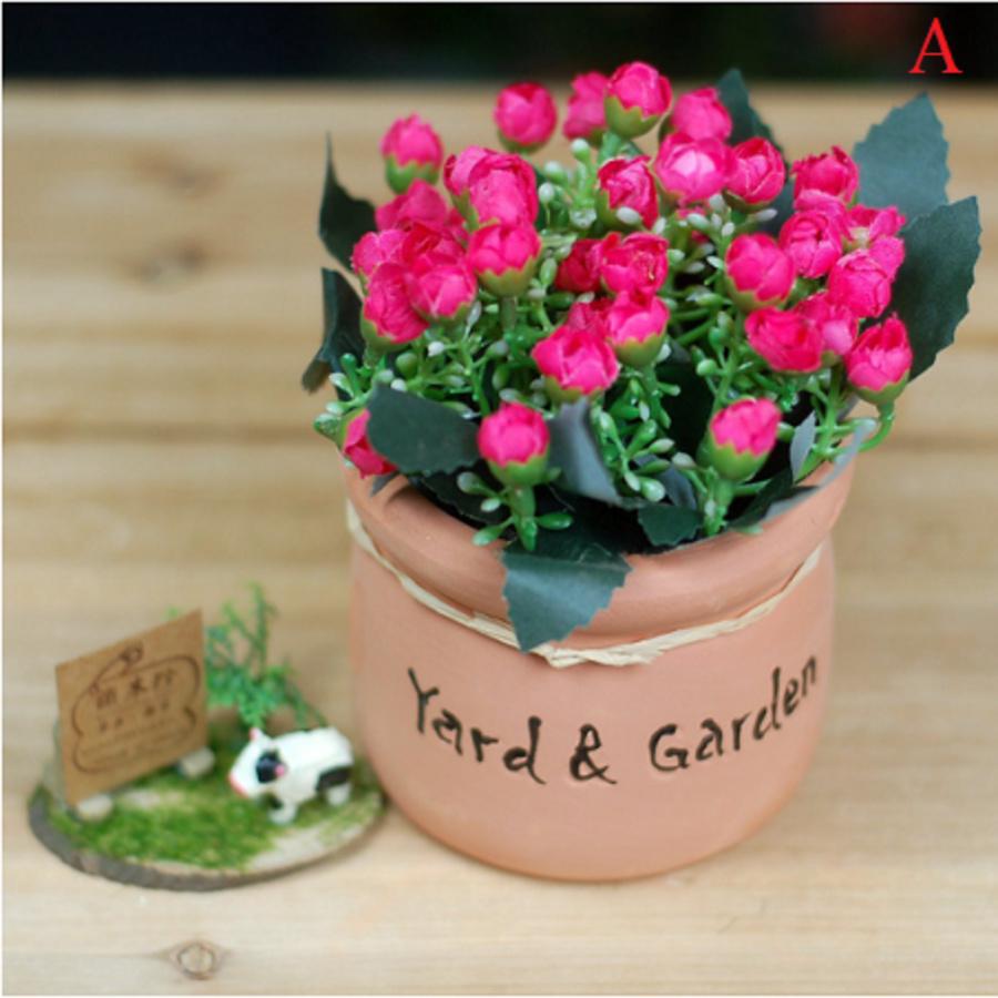 Chậu hoa nhí yard & garden