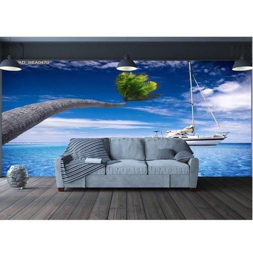 Tranh dán tường phong cảnh biển 8