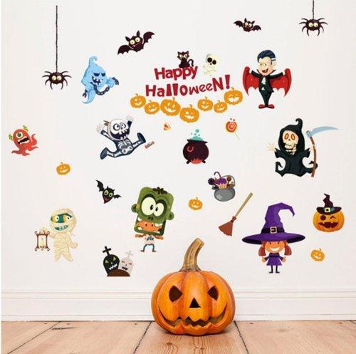 Decal dán tường halloween 9