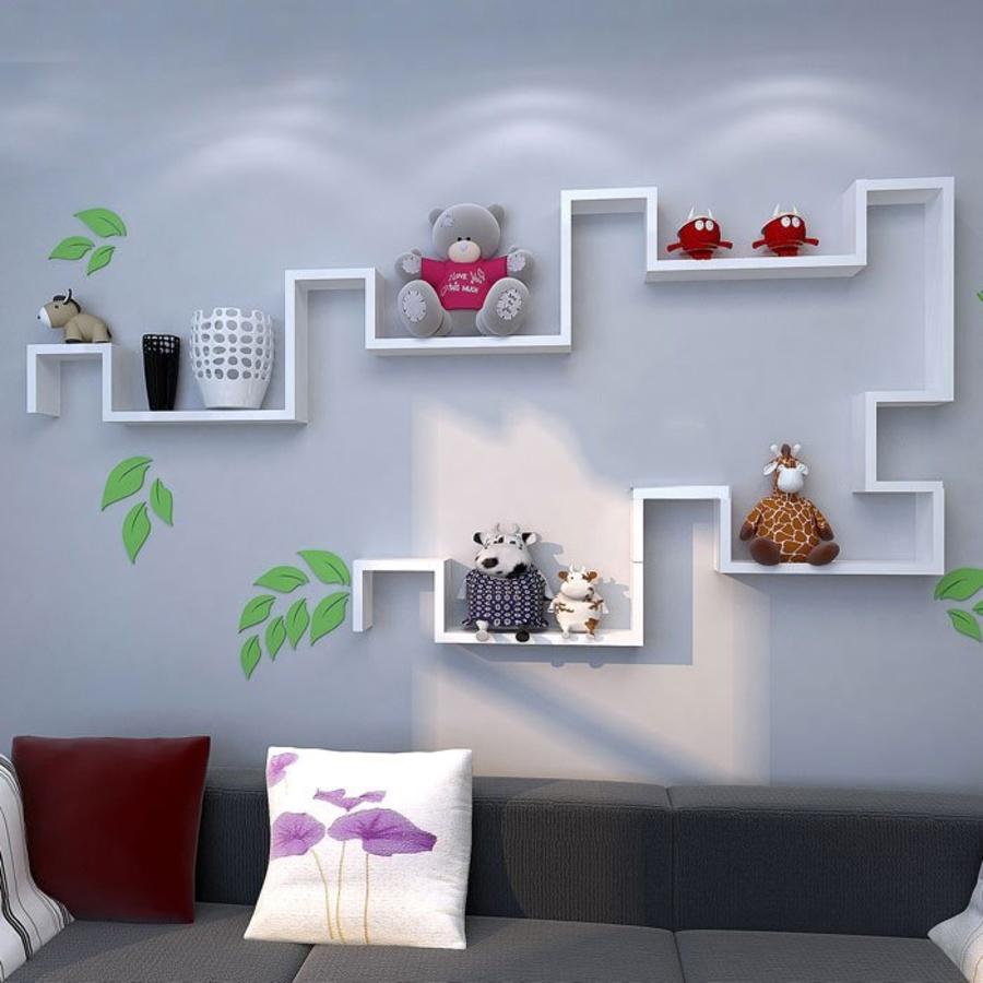 Kệ trang trí phòng khách KE_TTPK11