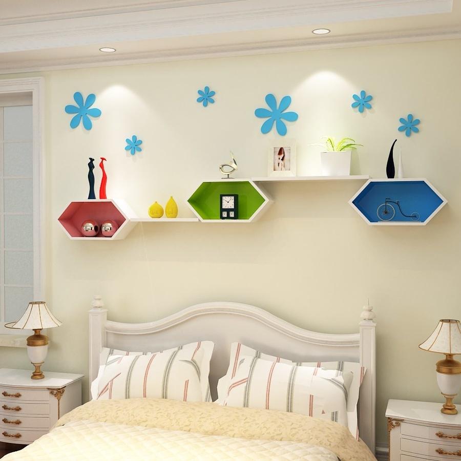 Kệ trang trí phòng ngủ KE_TTPN10