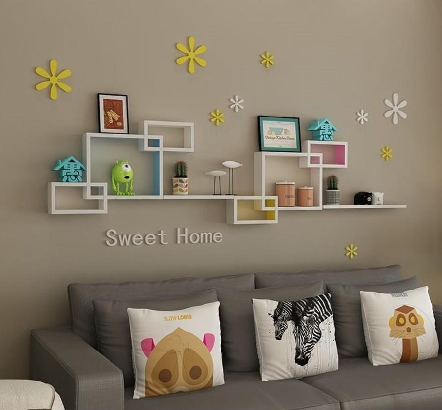 Kệ trang trí phòng khách KE_TTPK04