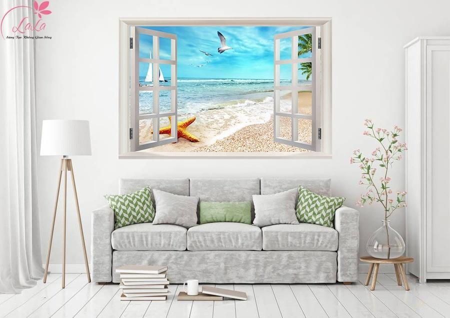 Tranh cửa sổ sao biển