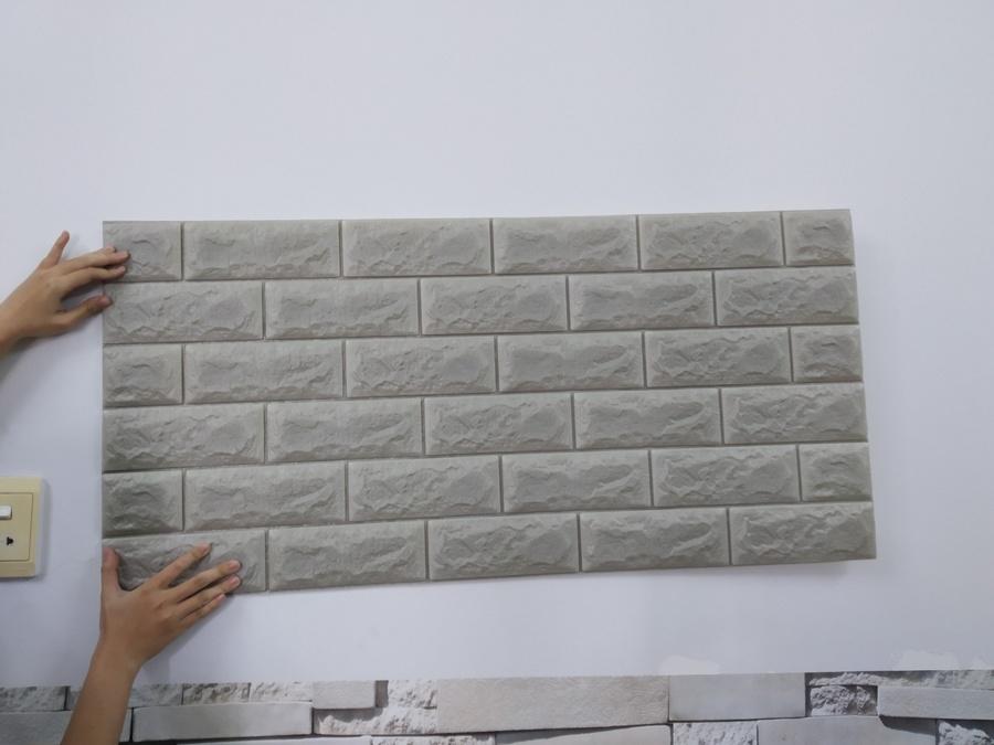 Xốp đá Hàn Quốc cao cấp màu xám nhạt