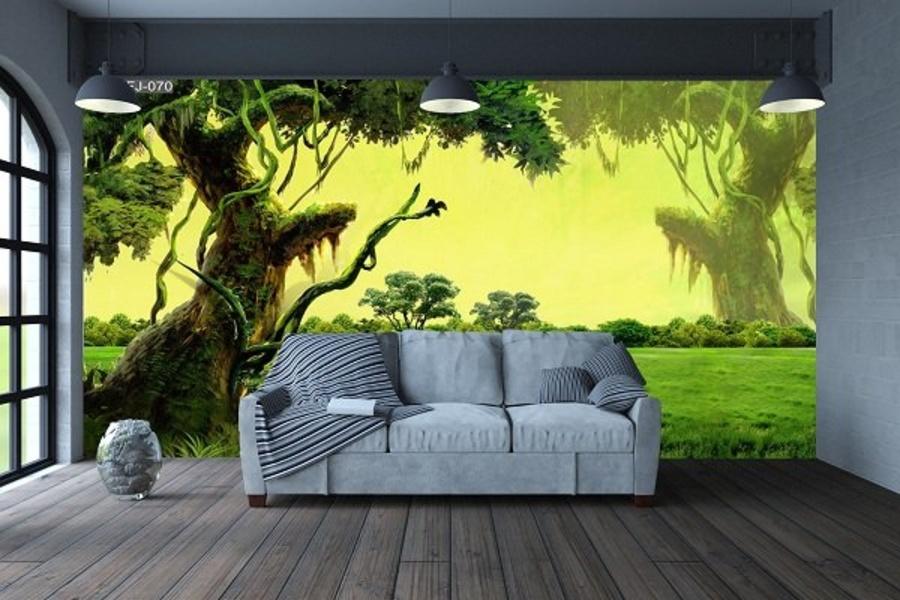 Tranh dán tường cây cổ thụ