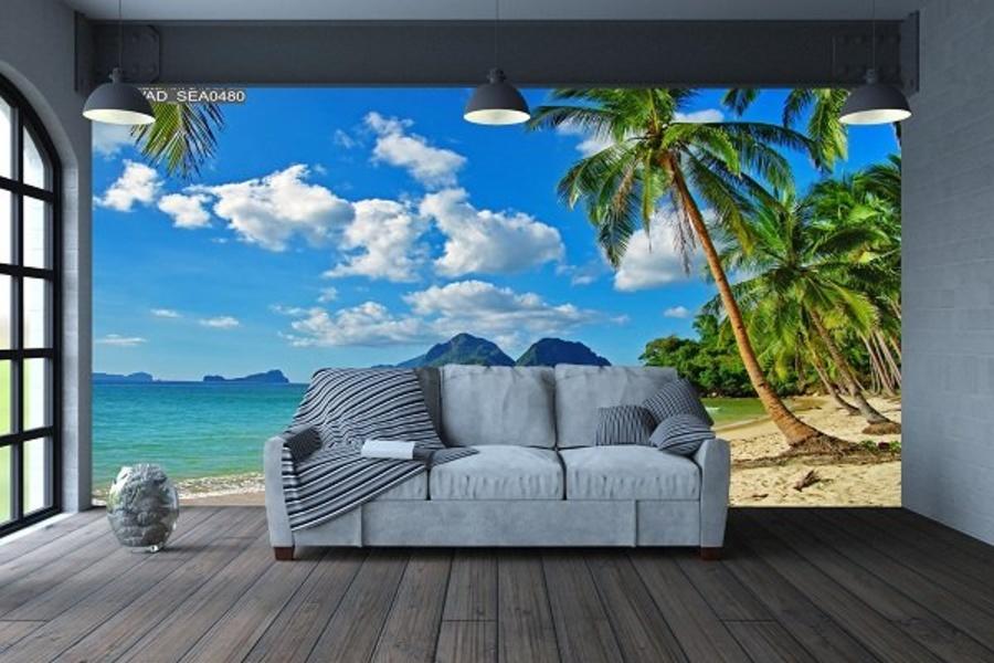 Tranh dán tường phong cảnh biển 7