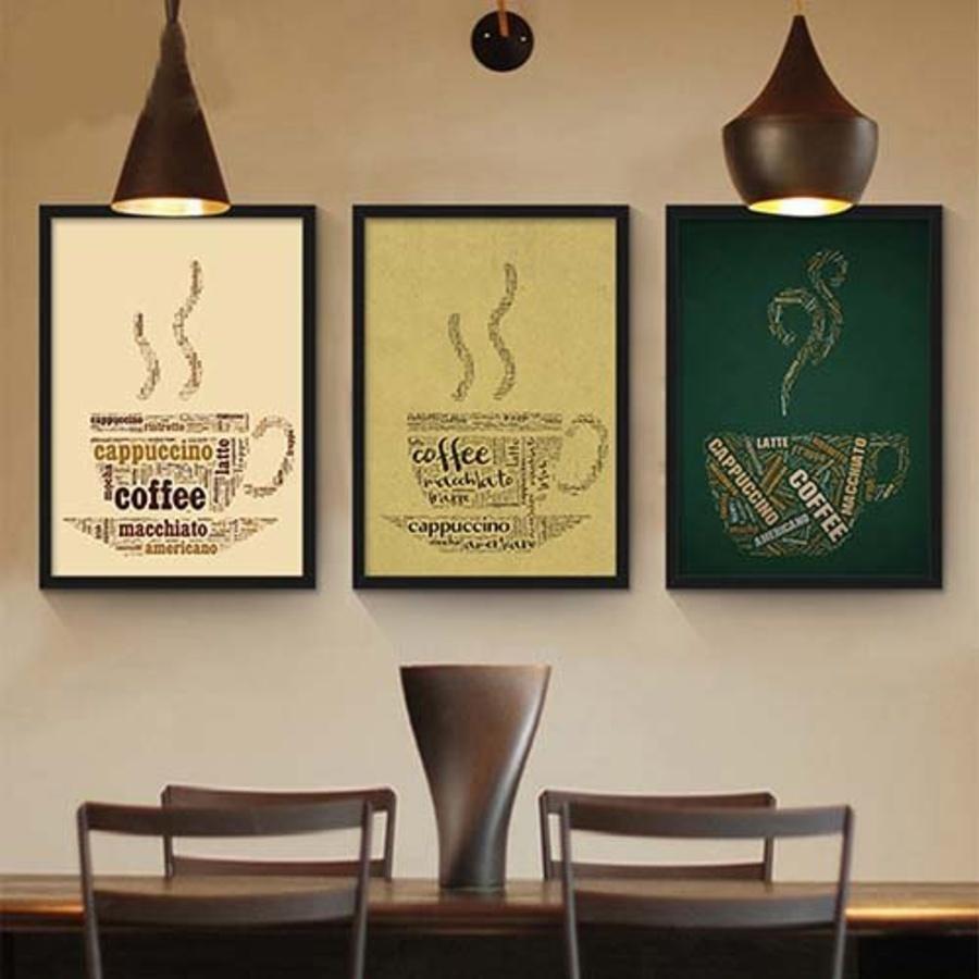 Tranh treo tường Coffee 3 (HG)