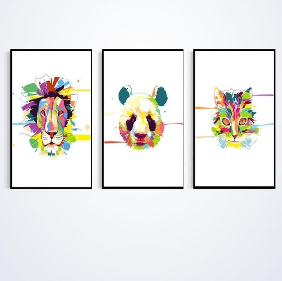 Tranh treo tường động vật cách điệu