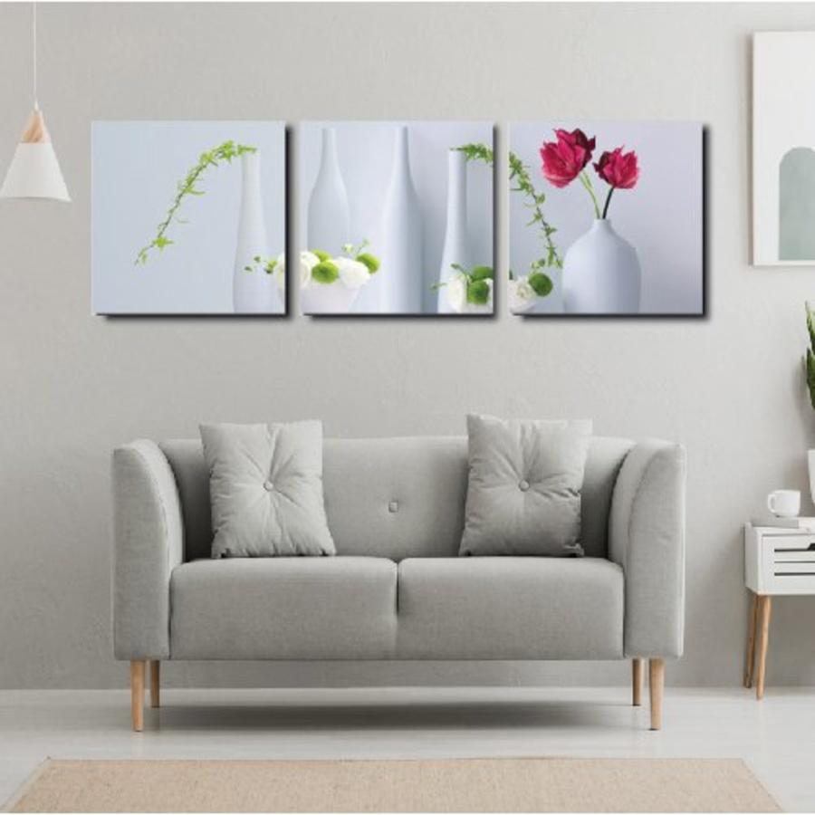 Tranh treo tường bình hoa nghệ thuật 2