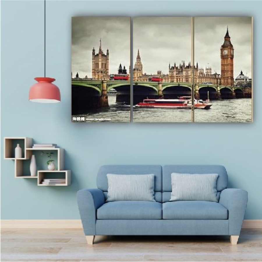 Tranh treo tường sông Thames
