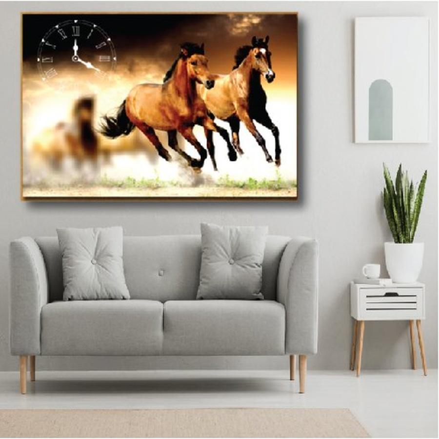 Tranh treo tường ngựa 1 tấm