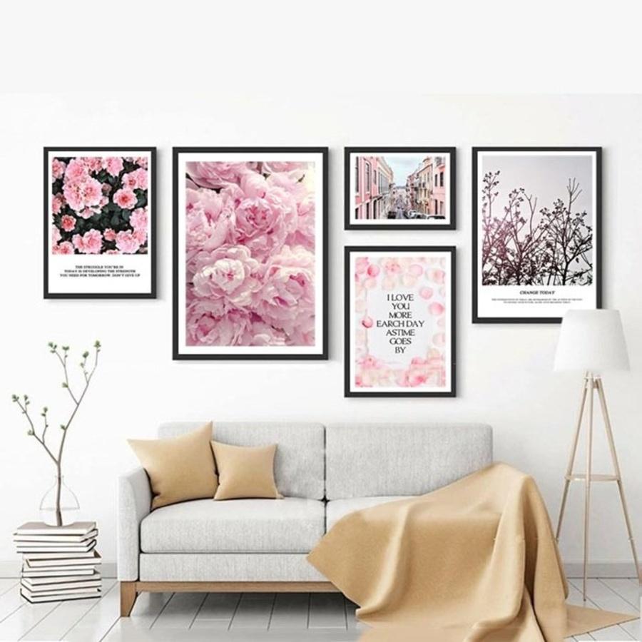 Tranh treo tường hoa hồng lãng mạn (HG)