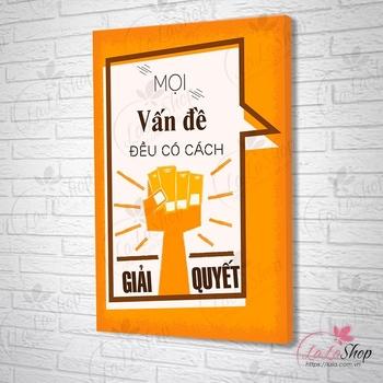 Tranh Slogan Tiếng Việt