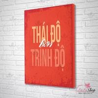 Tranh Slogan Treo Văn Phòng
