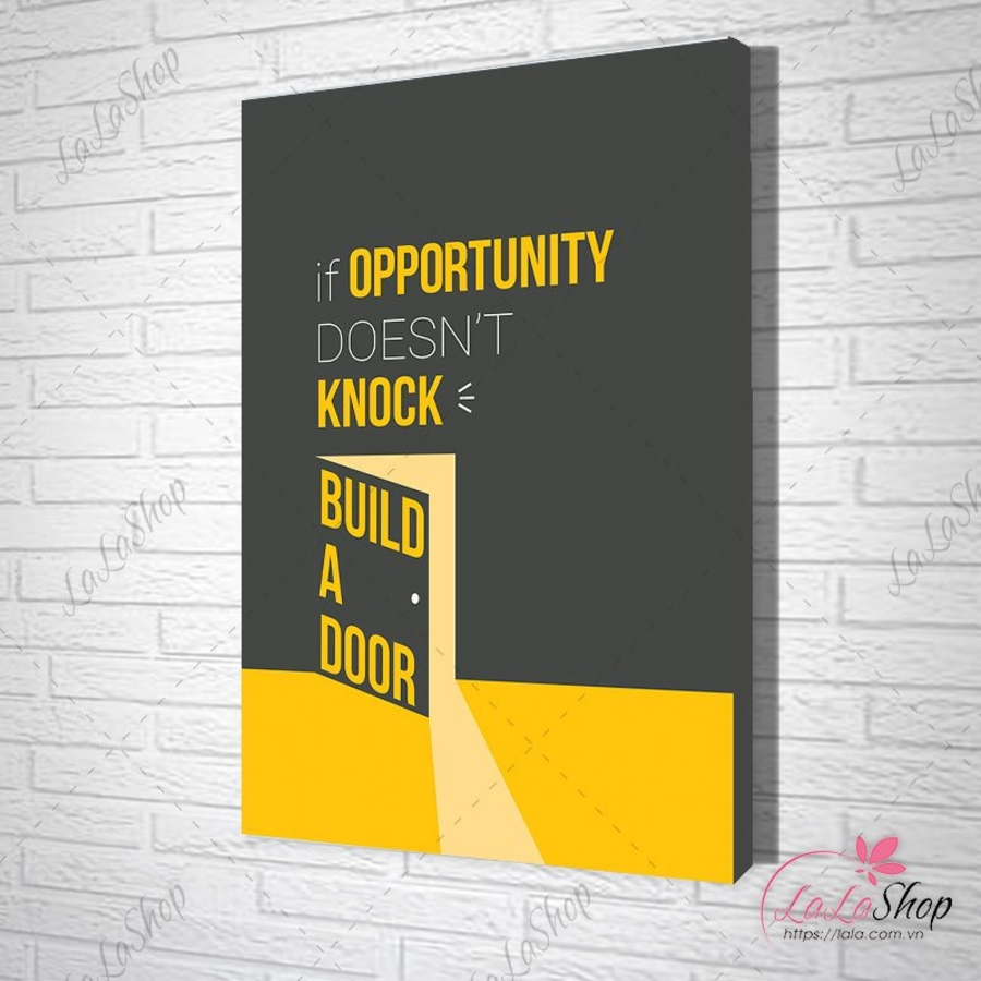 Tranh treo tường build a door
