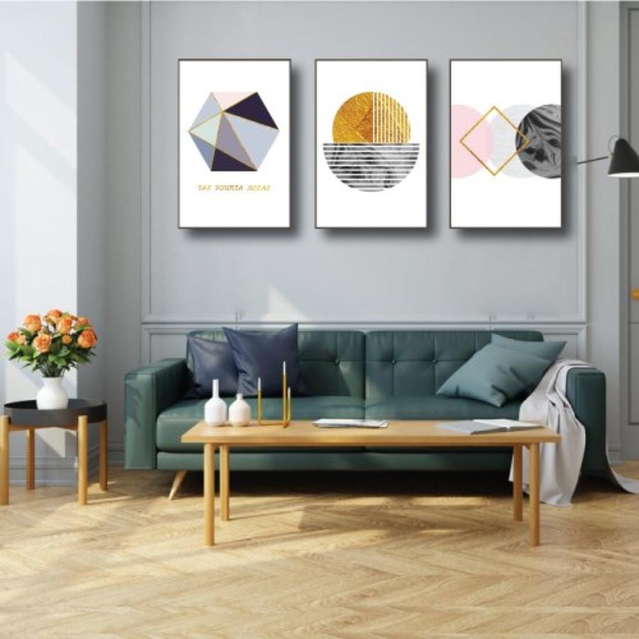 Tranh treo tường hình sắc màu nghệ thuật (KE-071)