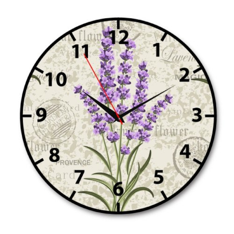 Đồng hồ vintage hoa oải hương