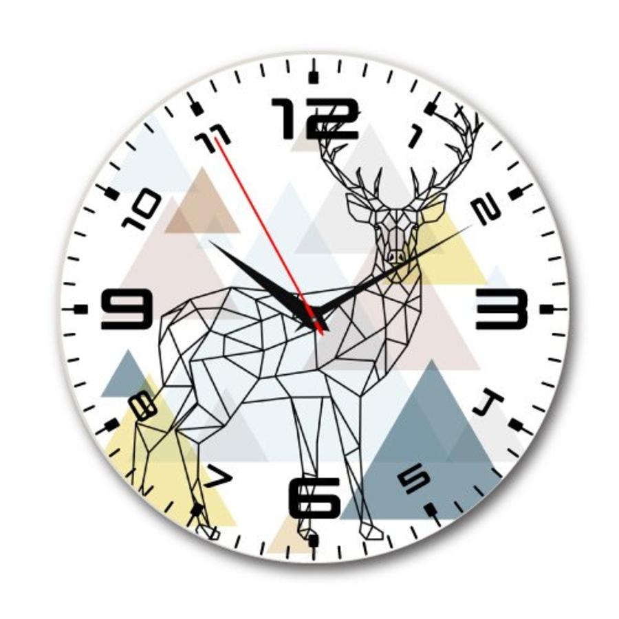 Đồng hồ vintage hươu cách điệu 2