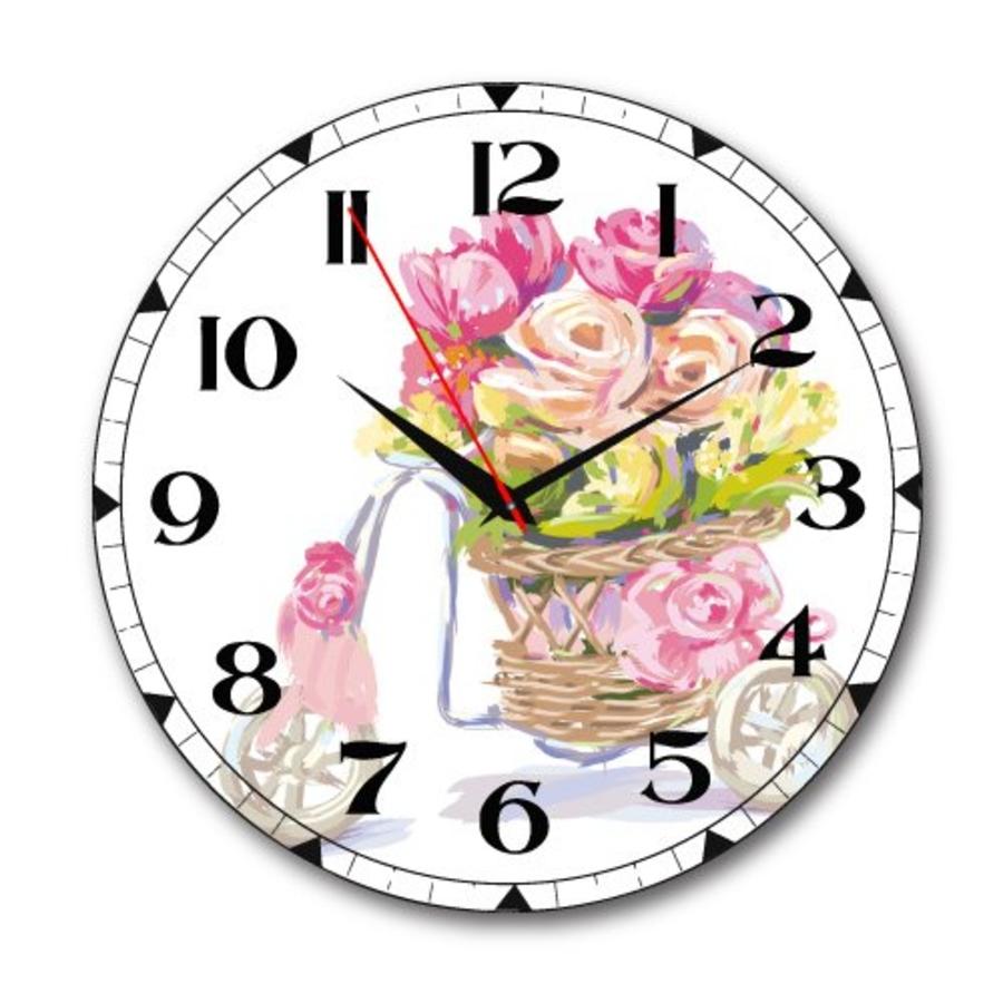 Đồng hồ vintage hoa hồng nhung