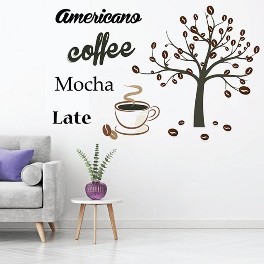 Decal dán tường Coffee 13