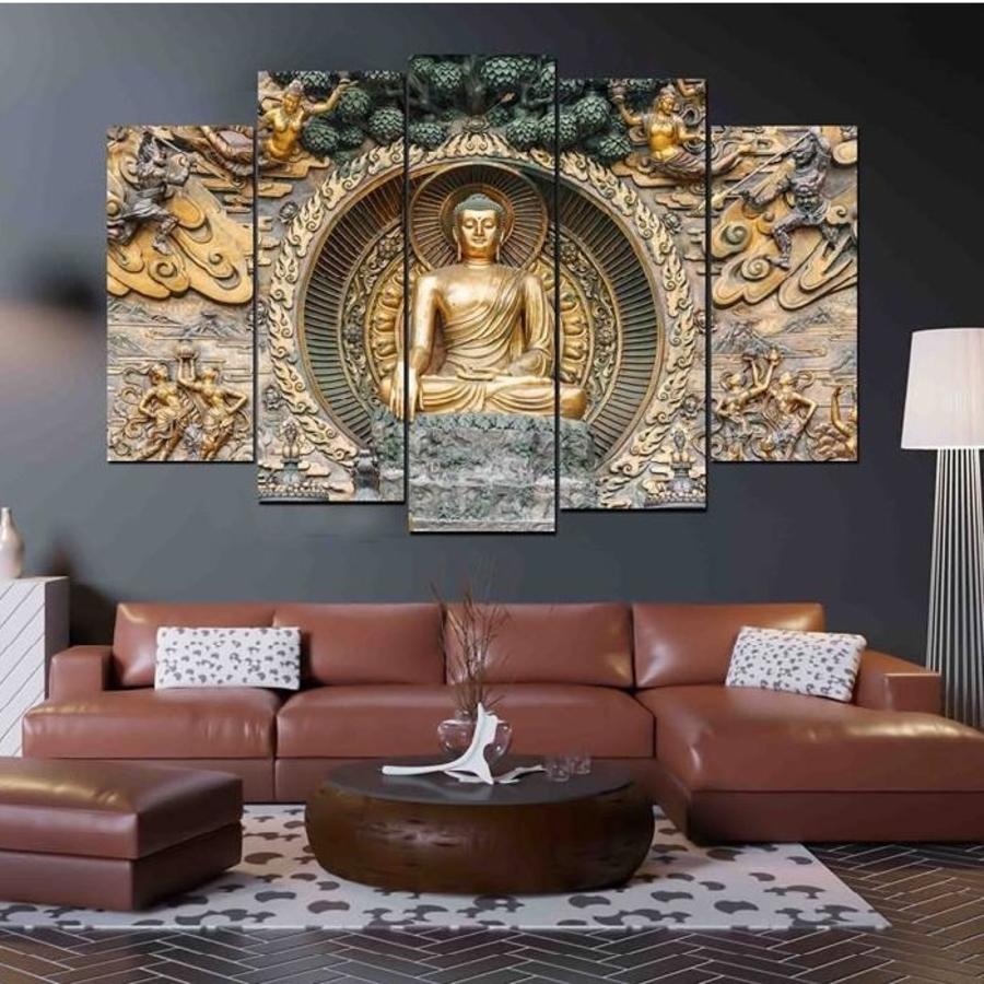 Bộ tranh treo tường Đức Phật (HG)