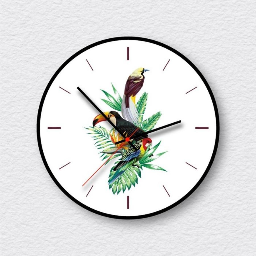 Đồng hồ vintage chim vẹt