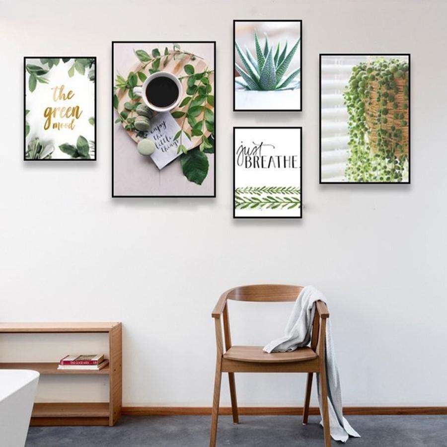 Bộ tranh treo tường cuộc sống xanh
