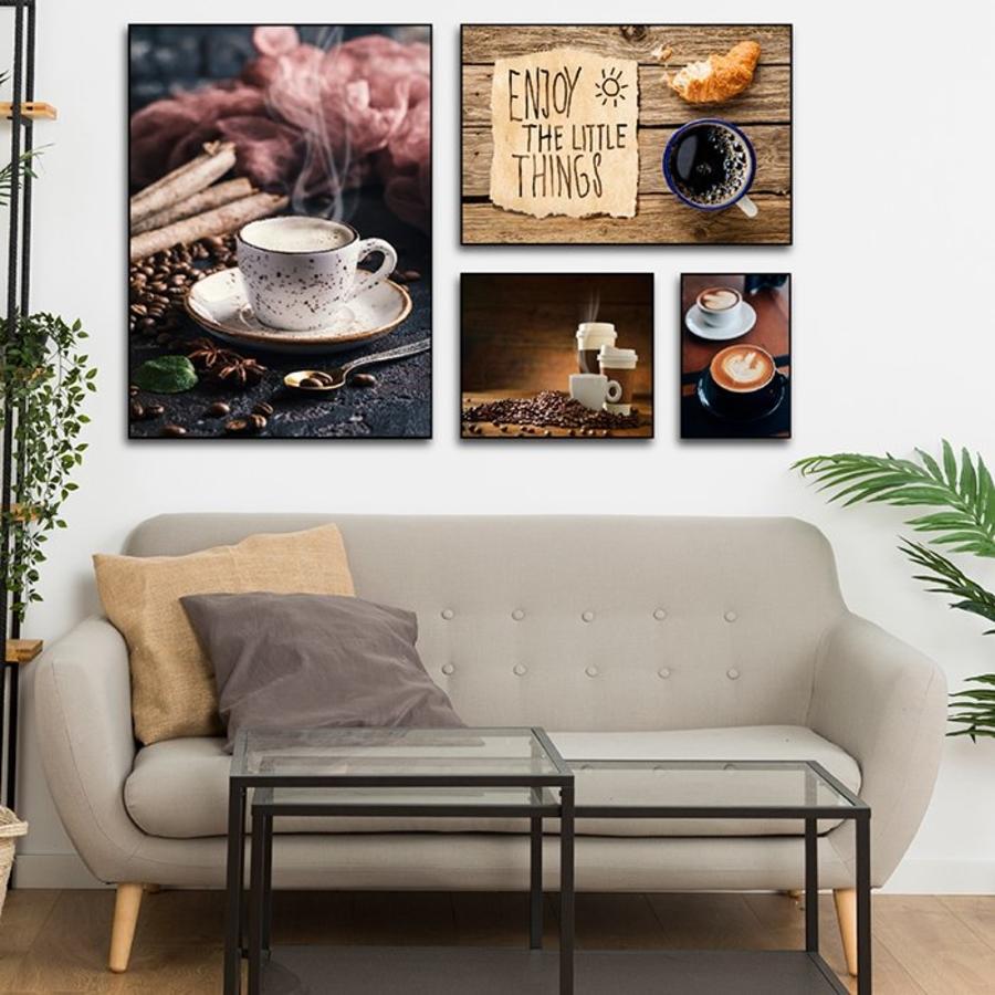 Bộ tranh treo tường hương vị coffee
