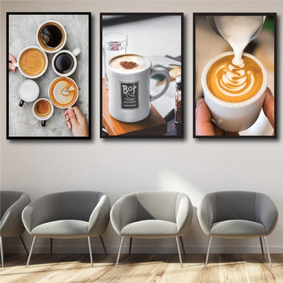 Tranh treo tường tách cà phê sáng