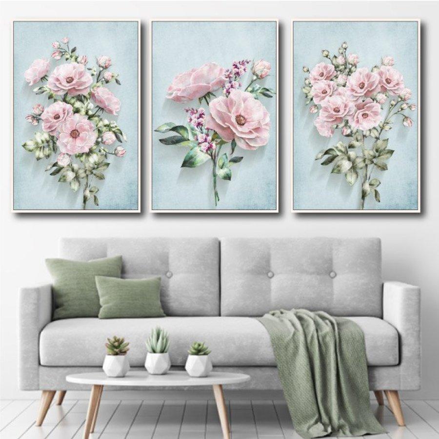 Tranh treo tường hoa thanh lịch