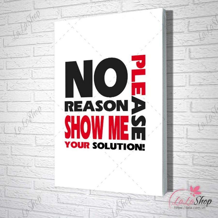 Tranh văn phòng no reason show me your solution please