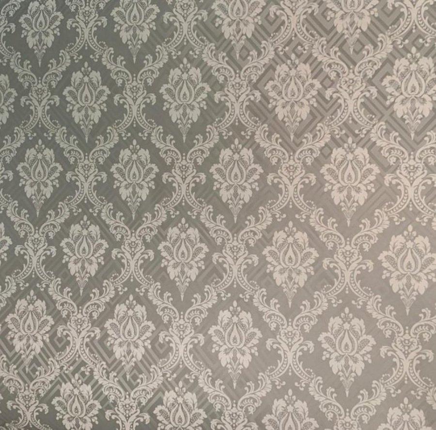 Giấy decal cuộn họa tiết hoa cổ điển khổ 1m2 mã 287