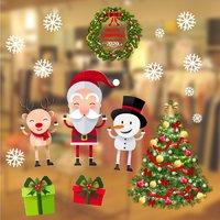 Decal Trang Trí Noel Quán Cà Phê