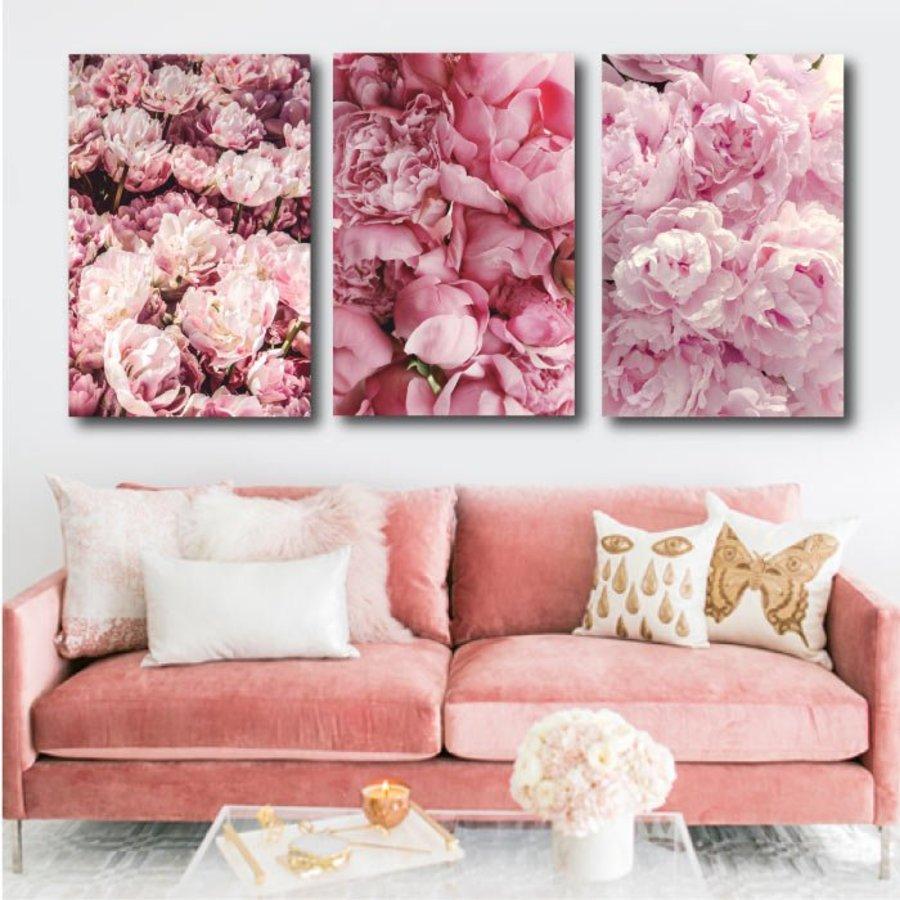 Tranh treo tường ngàn hoa hội tụ