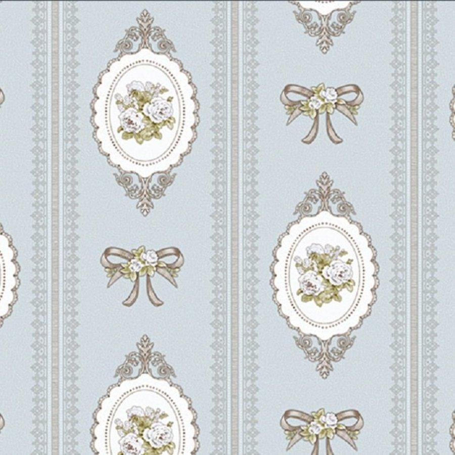 Giấy dán tường texture hoa hồng GHQ7702