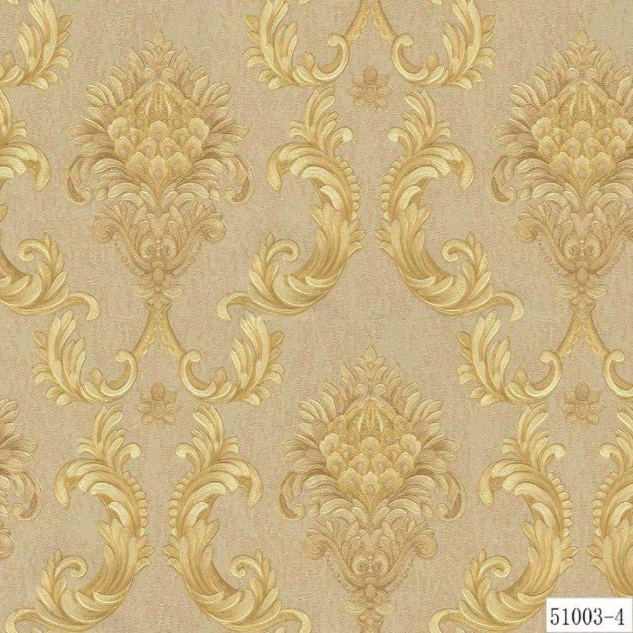 Giấy dán tường texture hoa văn GHQ51003