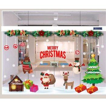 Decal Trang Trí Noel Cửa Hàng