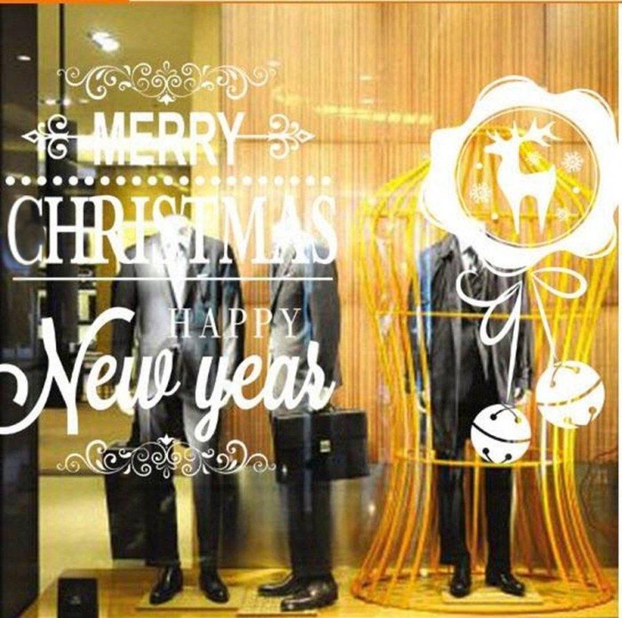 Decal dán kính chúc mừng năm mới, Noel