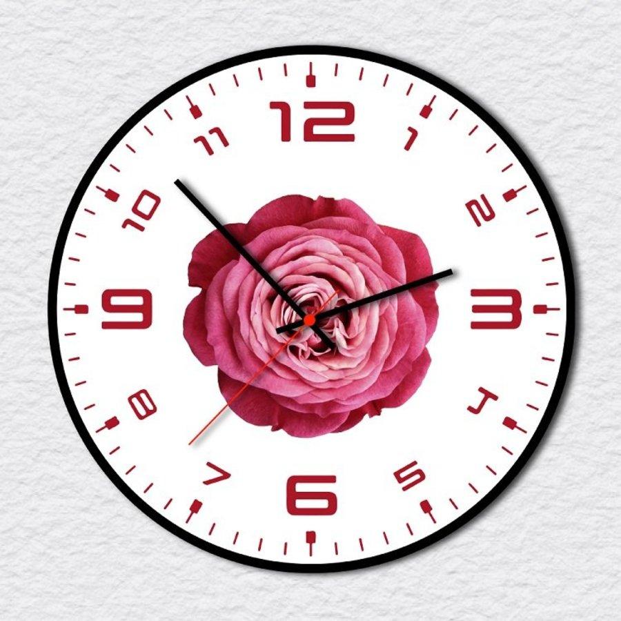 Đồng Hồ Vintage đóa hoa hồng 4