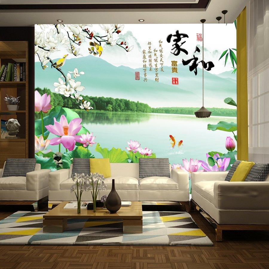Tranh dán tường sơn thủy hữu tình 4