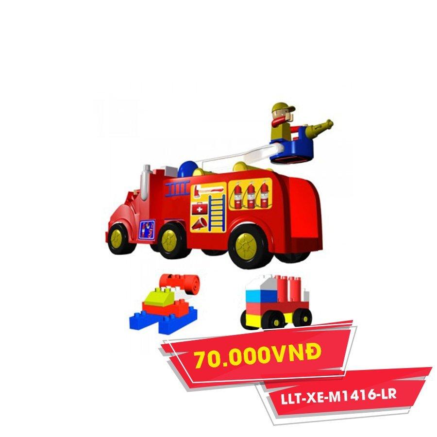 Xe chữa cháy chứa xếp hình(NCL)