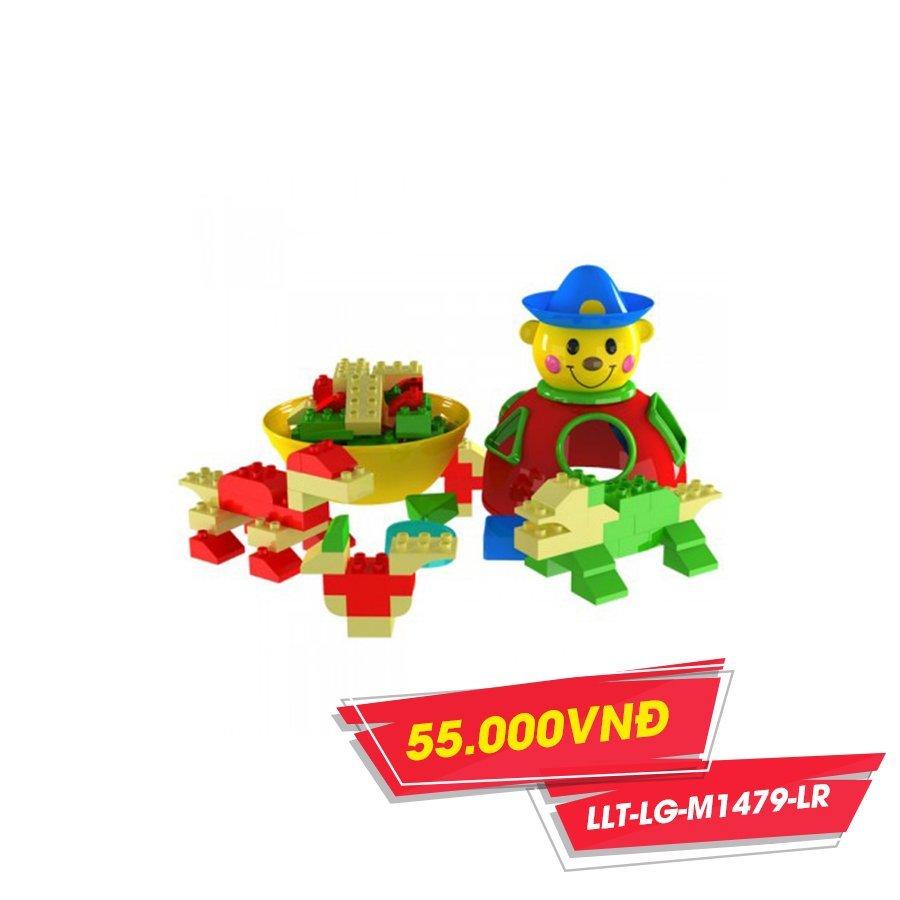 Đồ chơi Lego chú hề chứa XH (NCL)