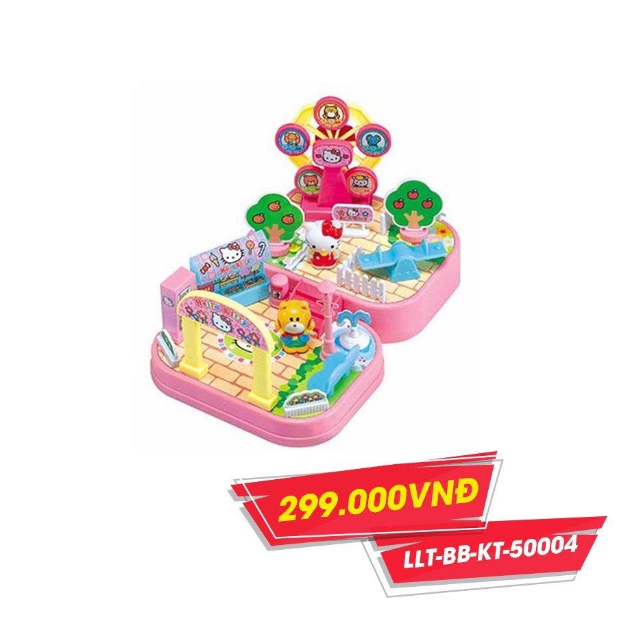 Bộ đồ chơi khu vui chơi Hello Kitty(TN)