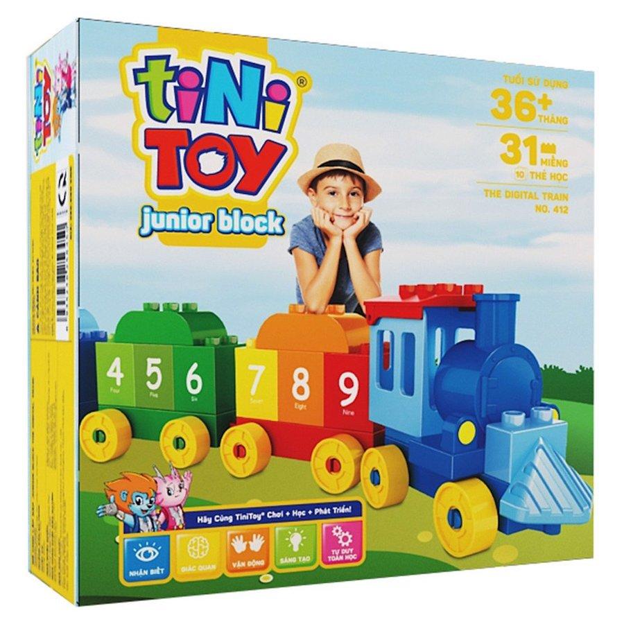 Đồ chơi lắp ráp Junior Block The Digital Train (TN)