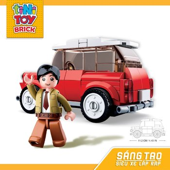 Đồ chơi lắp ráp xe hơi hiệu MINI TINITOY BRICK(150 pcs) (TN)