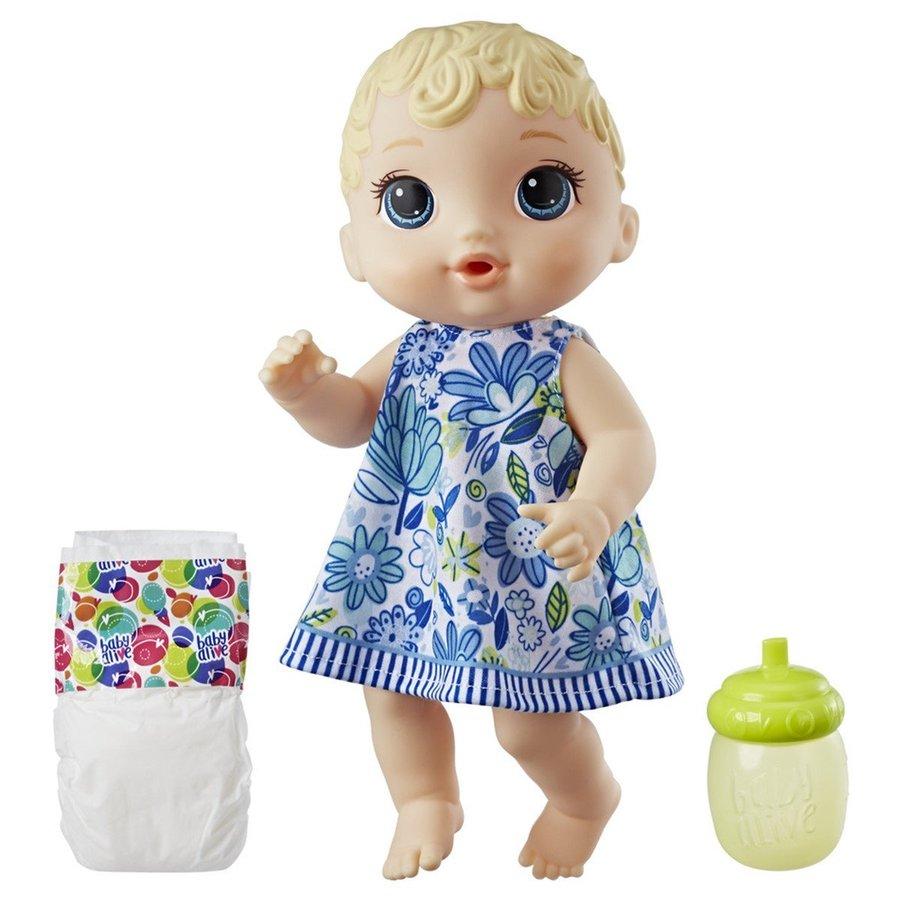 Đồ chơi bé Hava đáng yêu và tã giấy thần kỳ Baby Alive (TN)