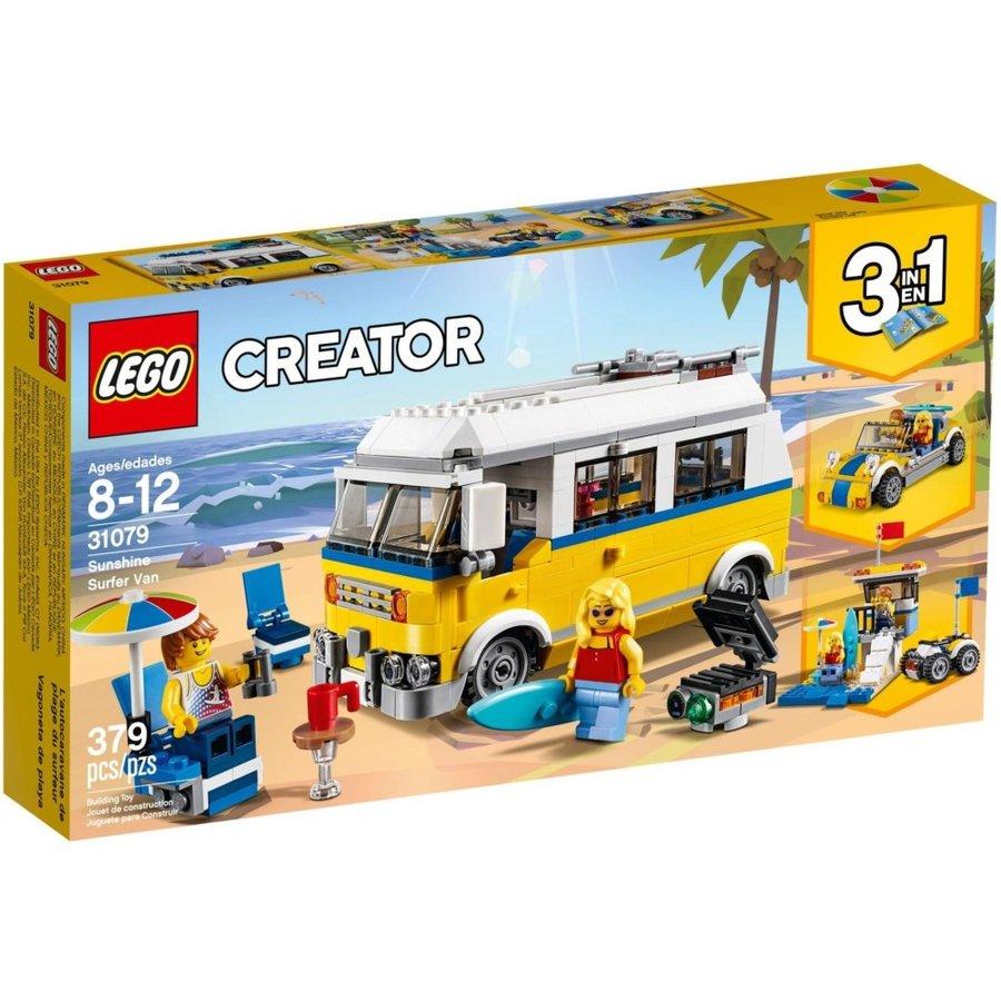 Xe Cắm Trại Bãi Biển LEGO CREATOR - 31079 (379 chi tiết)- Hàng chính hãng MYKINGDOM