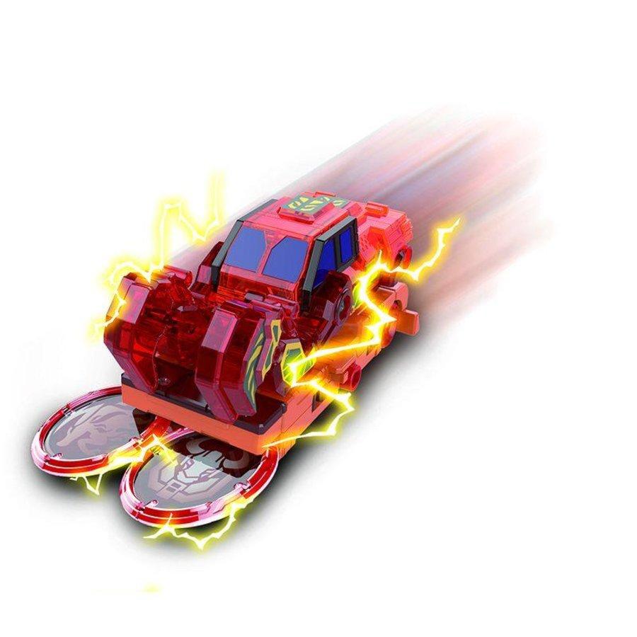 Đồ Chơi Xe Biến Hình Bò Húc Cuồng Hỏa SCREECHERS YW684203- Hàng chính hãng MYKINGDOM