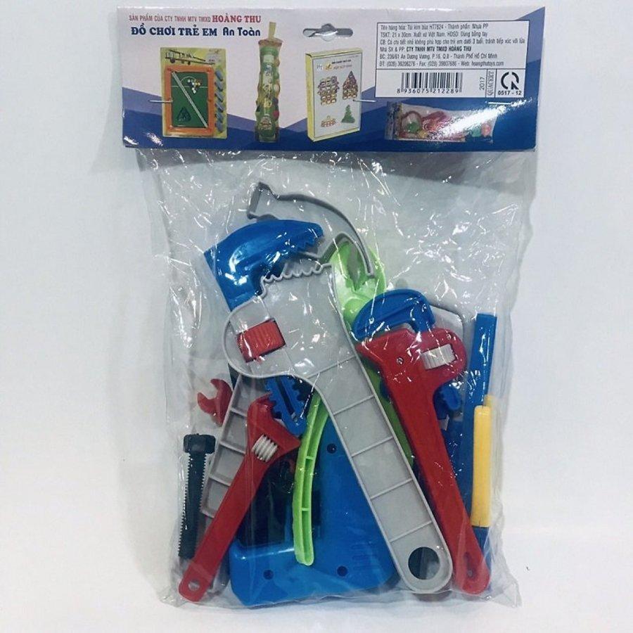 Đồ chơi Dụng cụ Kỹ sư Nhựa Hoàng Thu 22 chi tiết